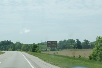 We passed by Bob Evans Farms on US 35 in Ohio