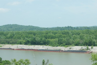 Coal Barge in West Virginia