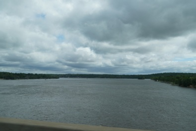 The MIghty Mississippi separating Illinois and Iowa