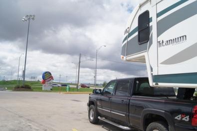 At the Iowa 80 truckstop
