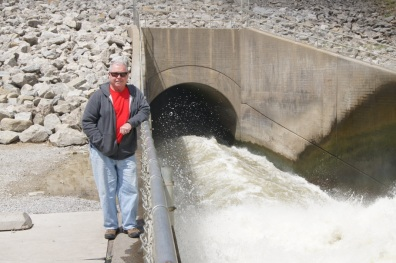 Henry at the Coralville Dam