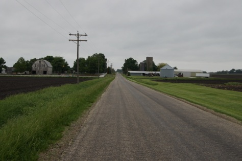Kamp Komfort is located on this country road