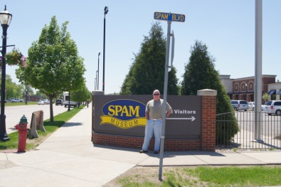 We drove out of our way to visit the Spam Museum in Austin, MN
