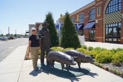 In front of the Spam Museum