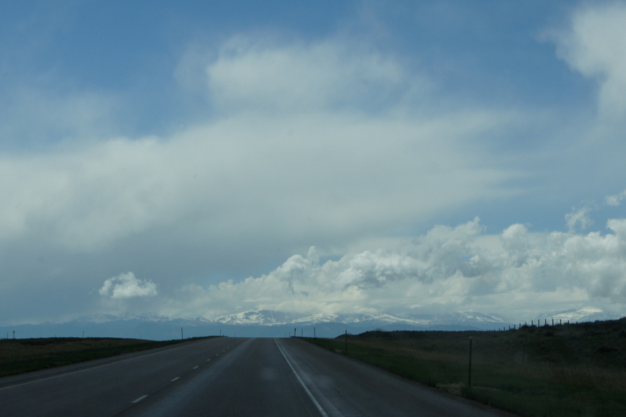 Storm over the Bighorn Mountains
