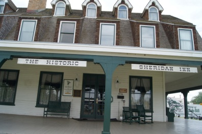 The Sheridan Inn was built in 1892