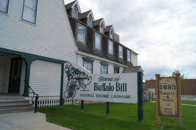 Buffalo Bill Cody stayed here when he was in Cody