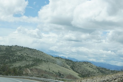 Driving through Montana