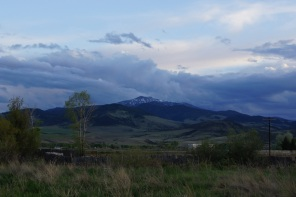 Waiting for sunset in Cardwell, Montana