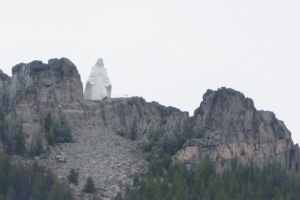 Our Lady of the Rockies overlooking Butte, MT