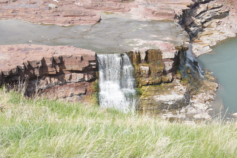 Rainbow Falls on the Missouri River