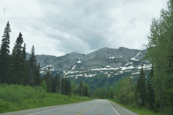 Beautiful views on the highway from Prince George to Dawson Creek