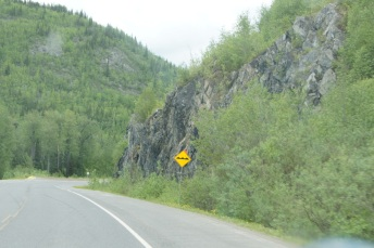 When you see one of these signs warning of a frost heave, be prepared for a bump