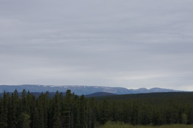 More beautiful views along the Alaska Highway