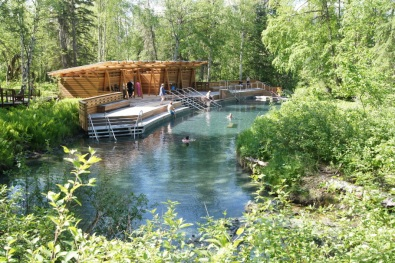 Liard River Hotsprings Beta Pool