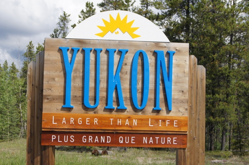 Welcome to the Yukon Territory