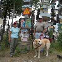 Day 30: Sign Post Forest in Watson Lake, Yukon Territory