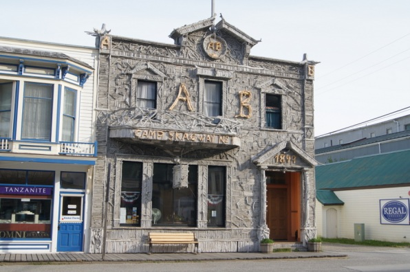 Skagway Visitor's Center is one of the most photographed buildings in Alaska