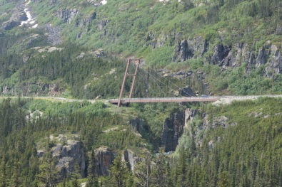 We crossed over the William Moore Bridge