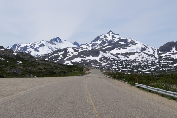 We felt like the only people in the world on the Klondike Highway