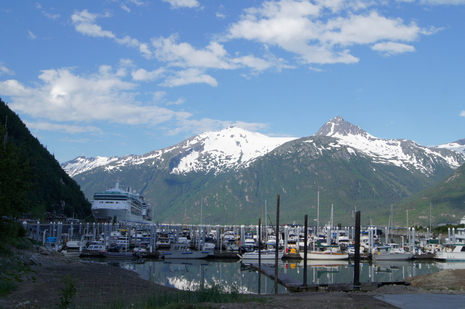 Pullen Creek RV Park, Skagway, Alaska