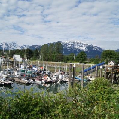 Haines boat harbor