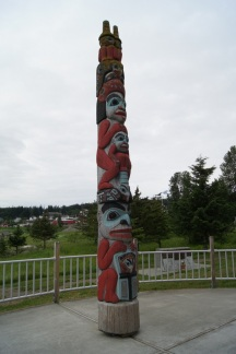 Haines Totem by the harbor