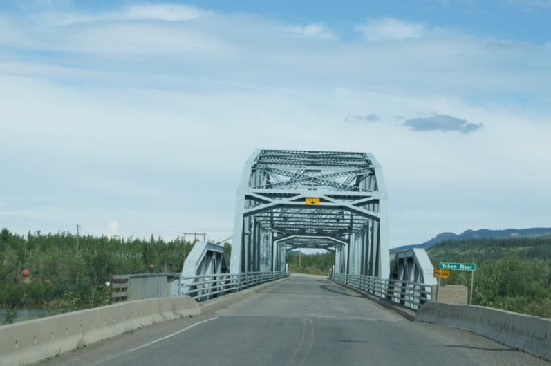 Crossing the Yukon River