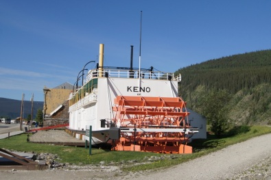 Another riverboat on the Yukon River