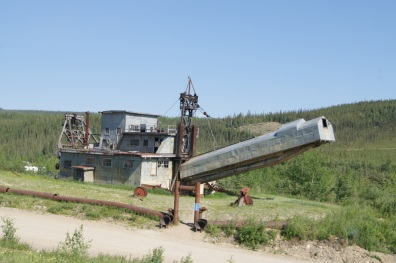 The Pedro Dredge in Chicken is a National Historic Site.