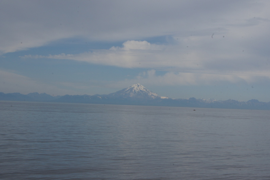 Mount Redoubt erupted in 2009