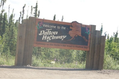 We traveled as far as Coldfoot on the Dalton Highway