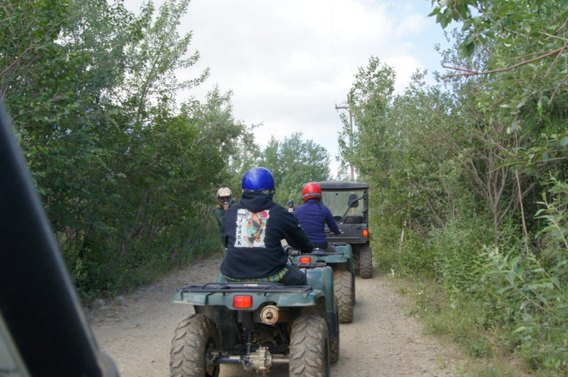 On the ATV Trail