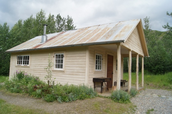 Fannie Quigley's cabin at Kantishna