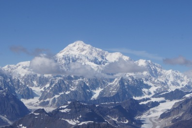 We went really close to Mt. McKinley
