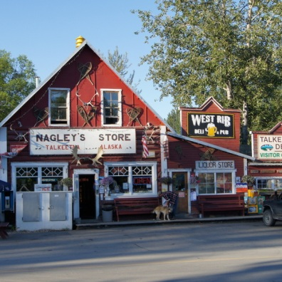 Downtown Talkeetna.