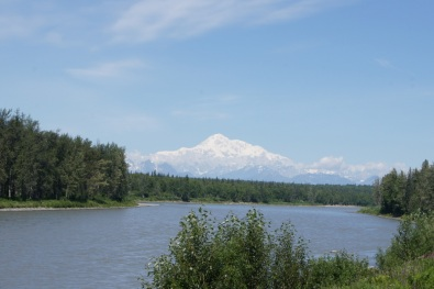 Mt. McKinley from the train