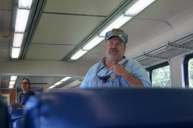 Conductor Warren loves his job