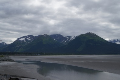 Turnagain Arm south of Anchorage