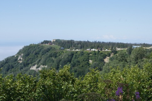 View of our campground from Baycrest overlook