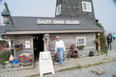 Beth at the Salty Dawg Saloon