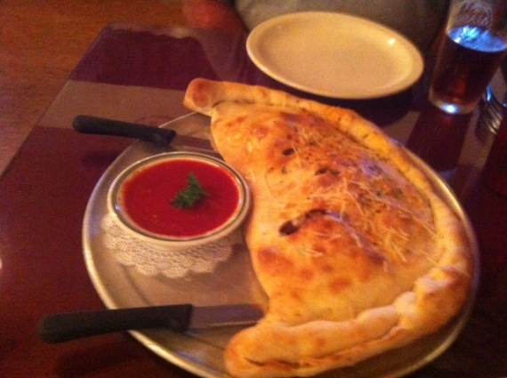 Elf's Special Calzone