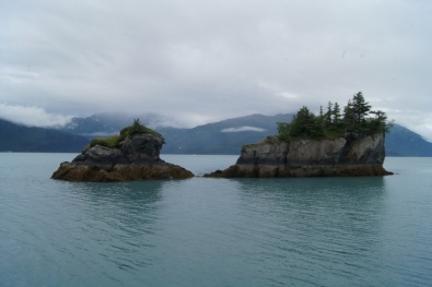 A couple of the small rocky islands we passed