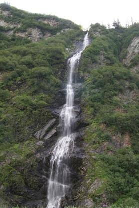 Bridal Veil Falls in Keystone Canyon