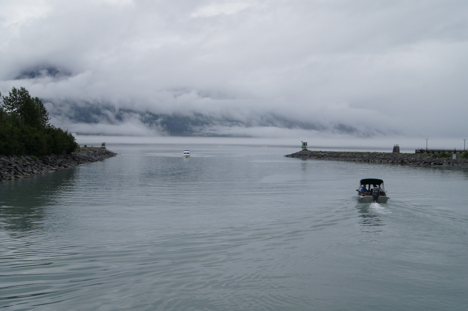Foggy day for a boat ride