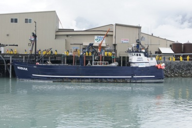 """One of the crab boats from """"Deadliest Catch"""" tv show"""