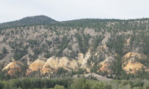Painted Hills in southern British Columbia