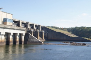 West Point Dam is a short drive from the campground