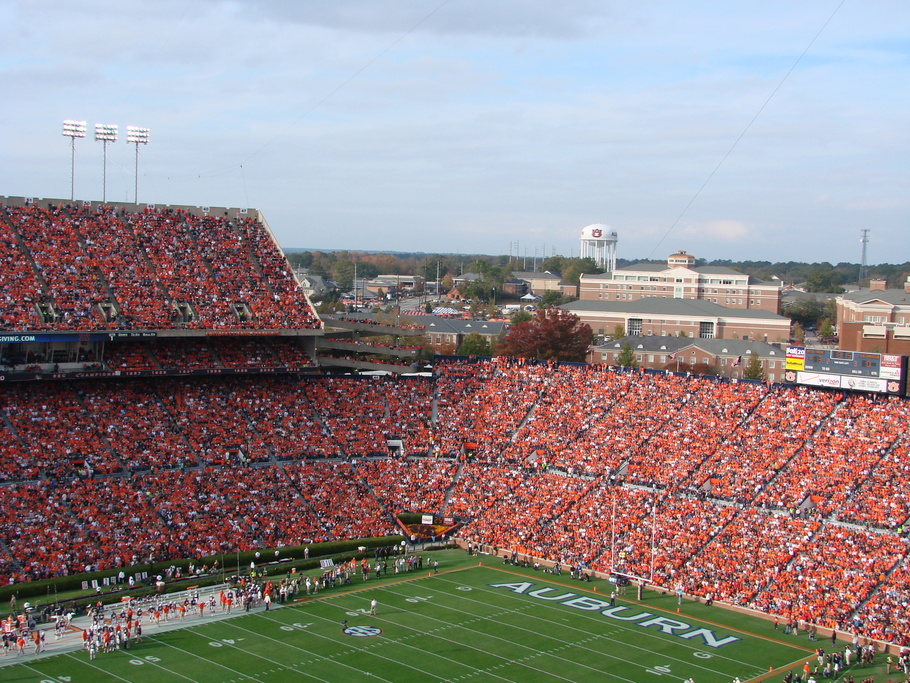 Jordan-Hare Stadium at Auburn University
