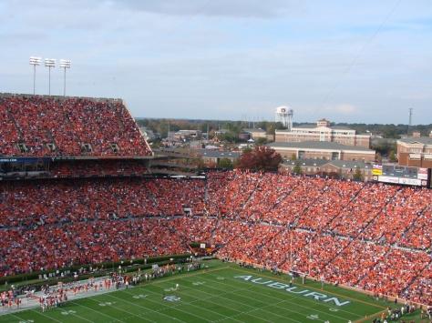 Jordan-Hare Stadium at Auburn University